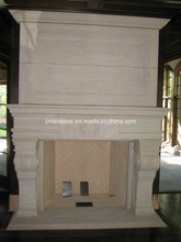 Fireplace/Sandstone Fireplace/ Yellow Sandstone Fireplace