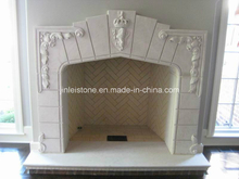 Fireplace/Sandstone Fireplace/ White Sandstone Fireplace
